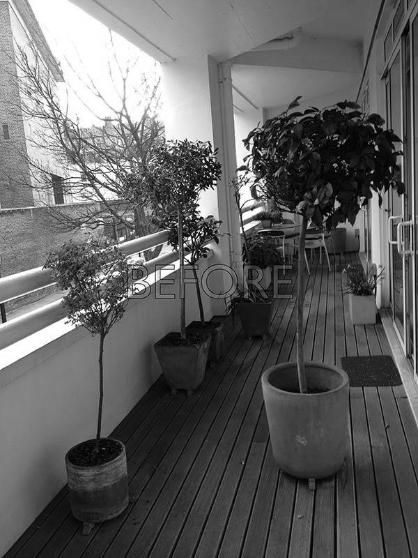 Balcony Design London: Balcony Garden Design Farringdon