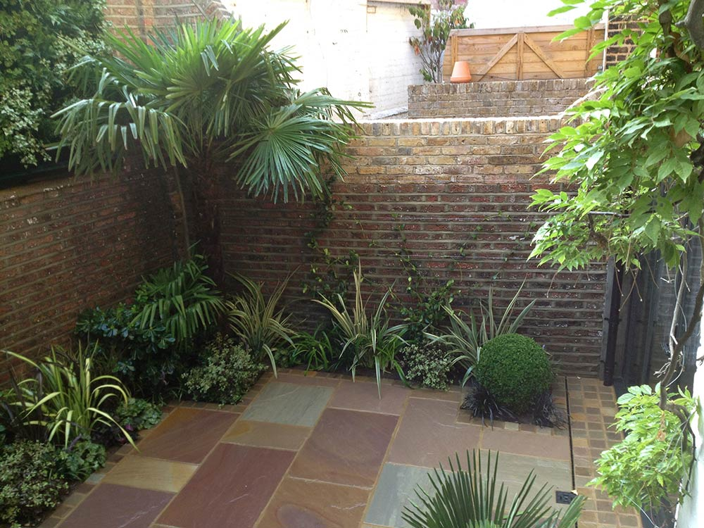 courtyard garden design kensington london garden design