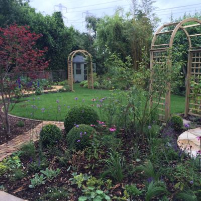 Large Garden Design Middlesex