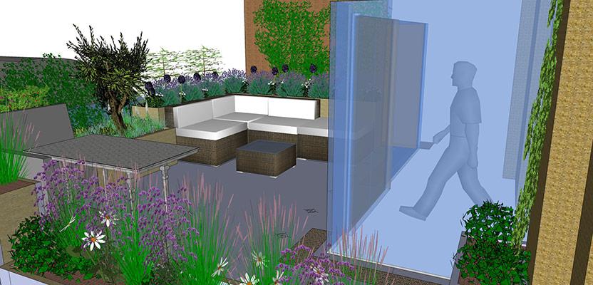 Roof garden design covent garden london garden design for Hobo designs covent garden